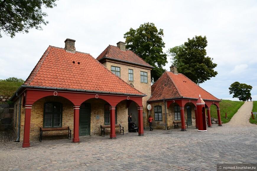 Северный вход в крепость.