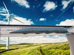 В Эмиратах запустят первый вакуумный поезд