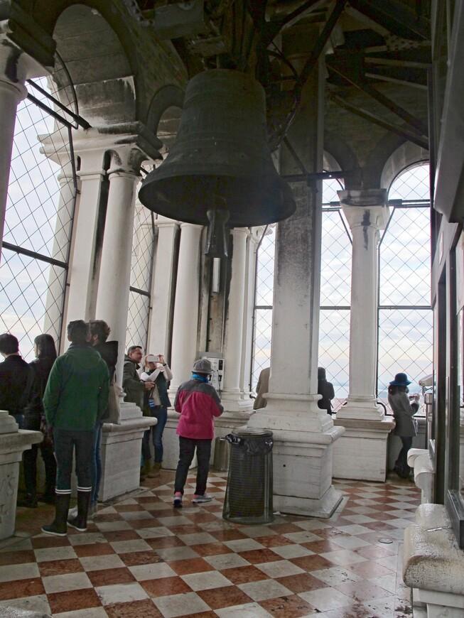 На колокольне собора Сан Марко