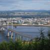 Сейсмоустойчивый мост на подъезде к столице Высокогорья городу Инвернесс