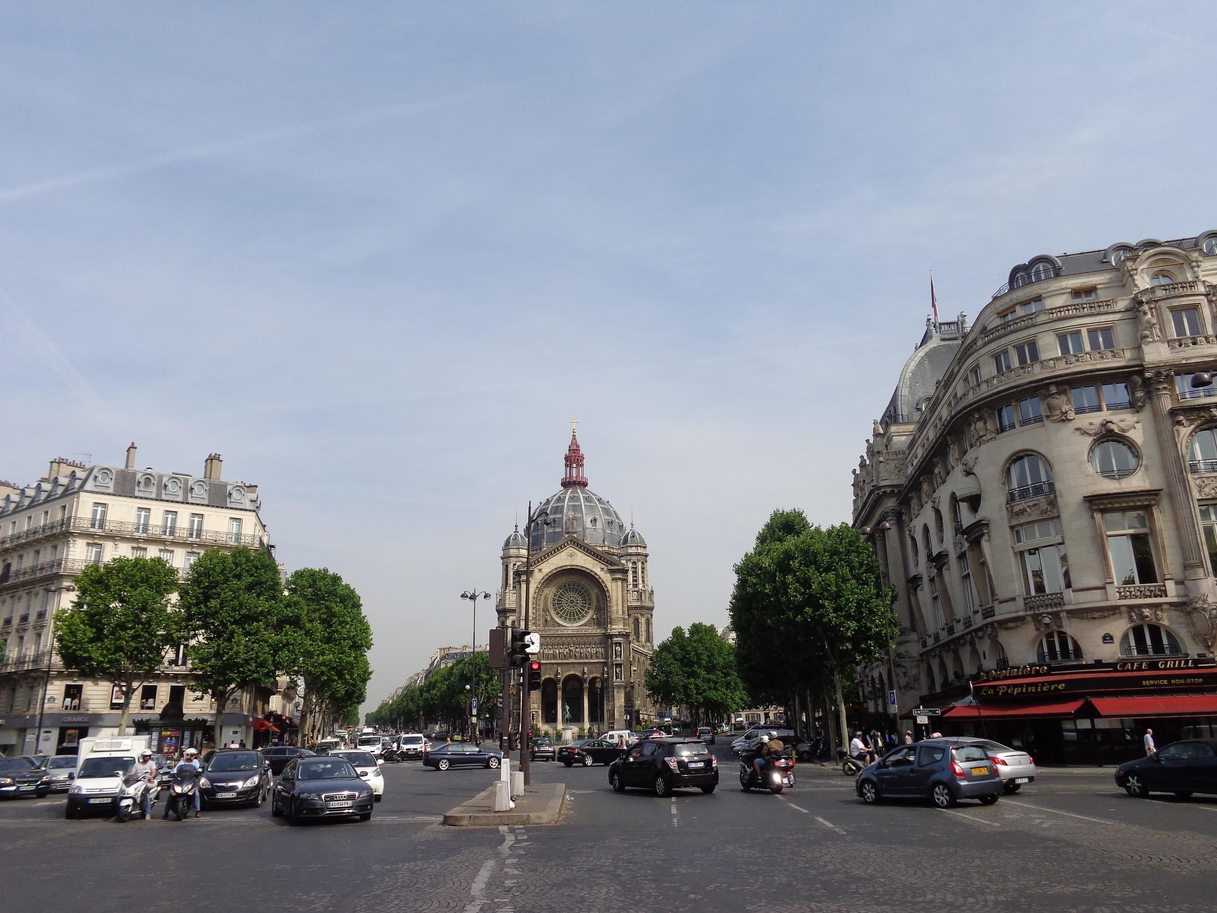Улицы Парижа., Париж