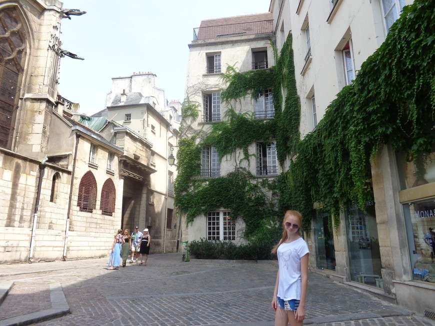 Улочки старого Парижа.