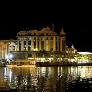 Порт-Луи, вечерние впечатления.