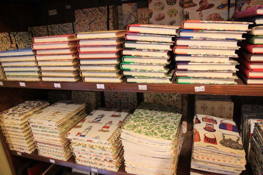 Блокноты из флорентийской бумаги