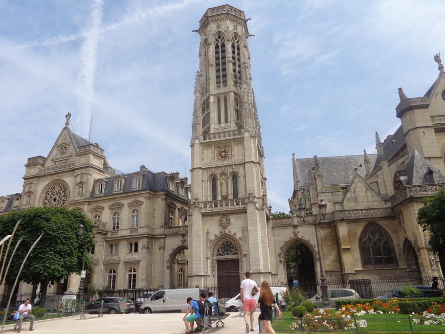 фасад церкви Сен-Жермен-Л Осерруа