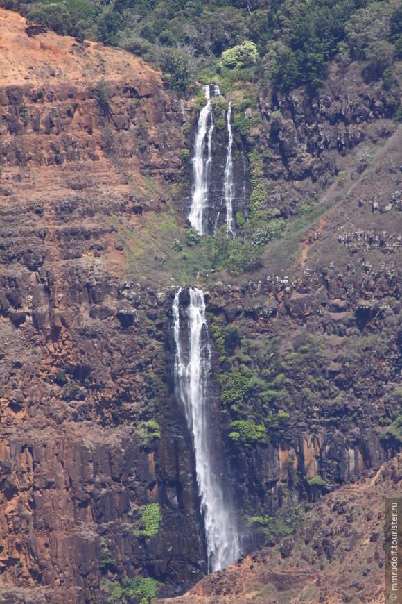 водопад в каньоне ВАЙМЕА