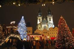 Новогодняя Прага ждёт гостей
