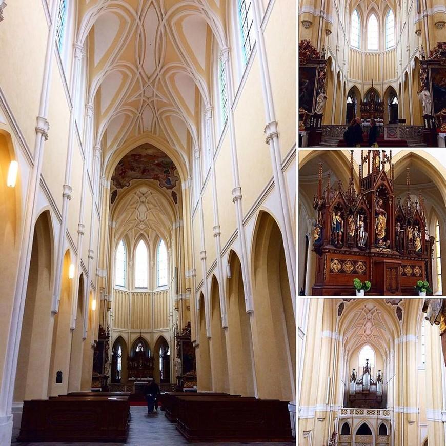 Костел вознесение девы Марии в Седлеце. (ЮНЕСКО)