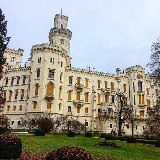 замок Глубока-над-Влтавой.