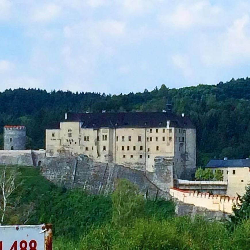 замок Чешский Штернберг.
