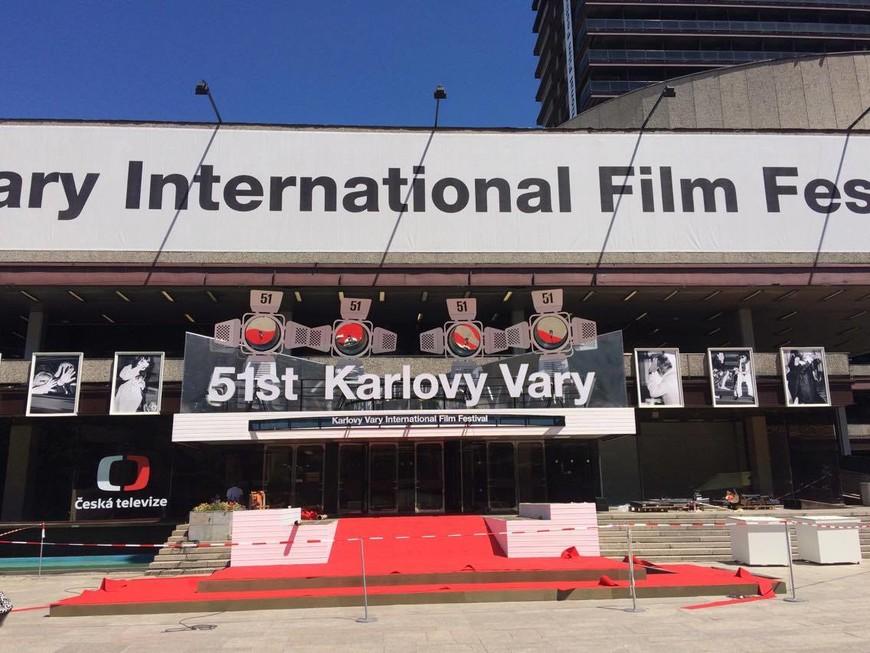 Карловы Вары. Гостиница Термал, где каждый год проводится кинофестиваль.