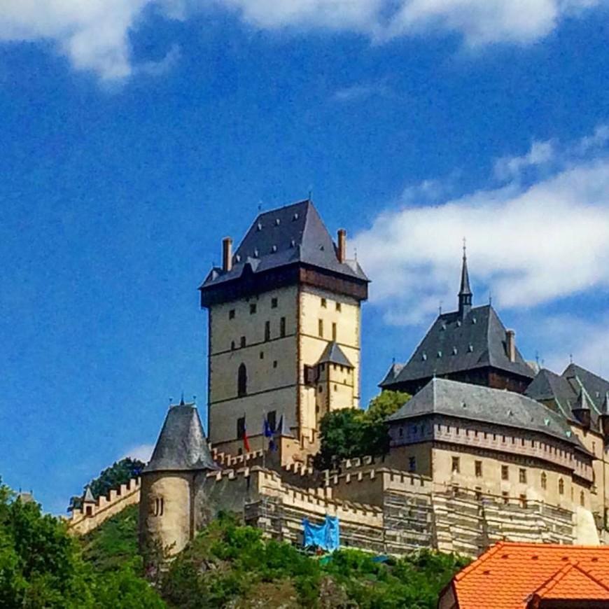 замок Карлштейн.