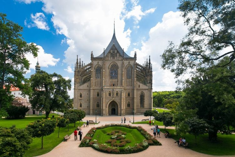 Кутная Гора. Кафедральный собор святой Варвары.