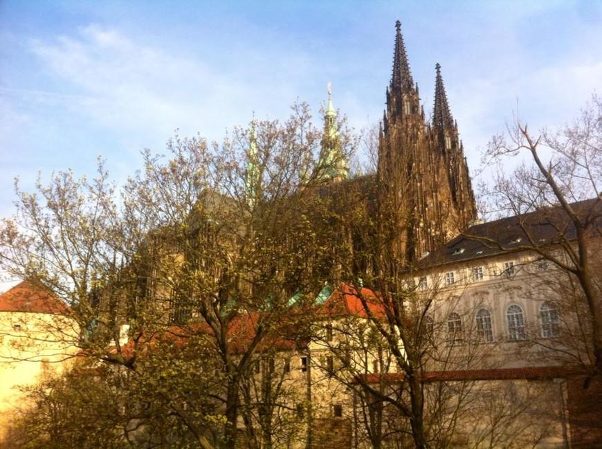 Пражский град. Кафедральный собор святого Витта, Вацлава, Войтеха.
