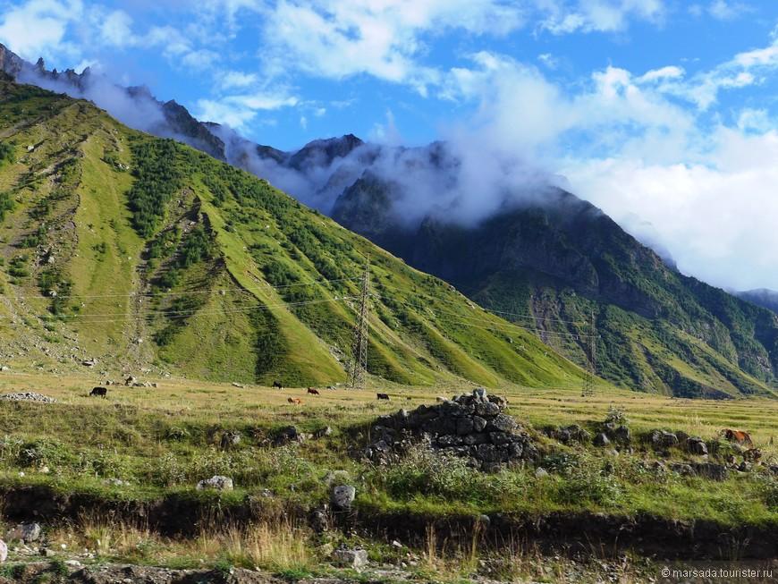 Этот путь по долинам Терека и Арагви известен с древних времен. Дорога упоминается в старинных хрониках.