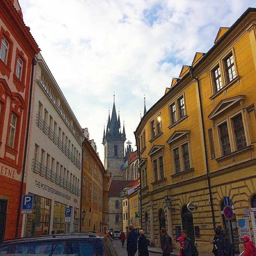 Улочки Старого города Праги.