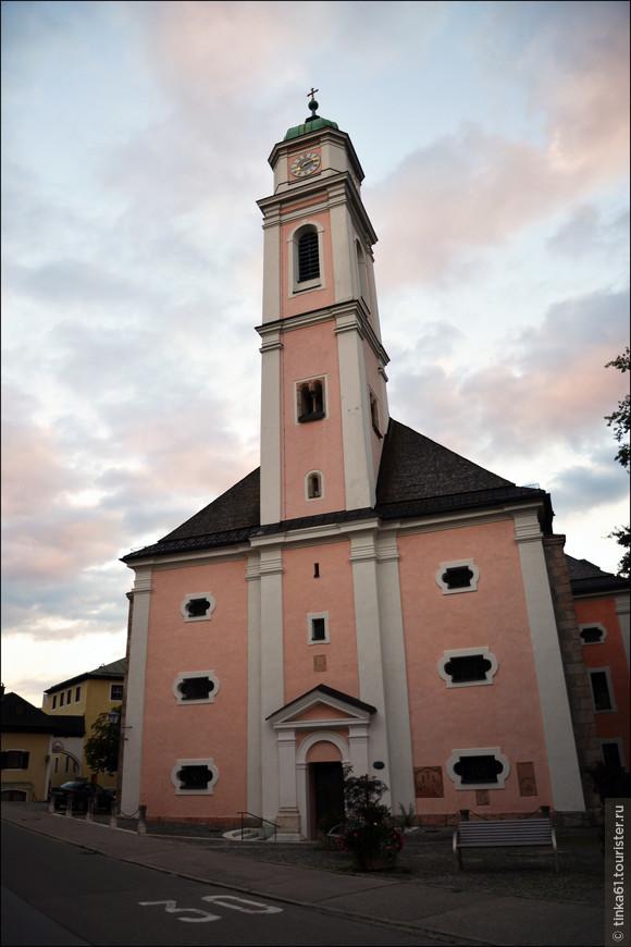 Церковь Святого Андреаса.