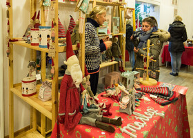 Скандинавские рождественнские базары Гамбурга