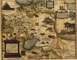 Выставка географических карт проходит в Российской национальной библиотеке