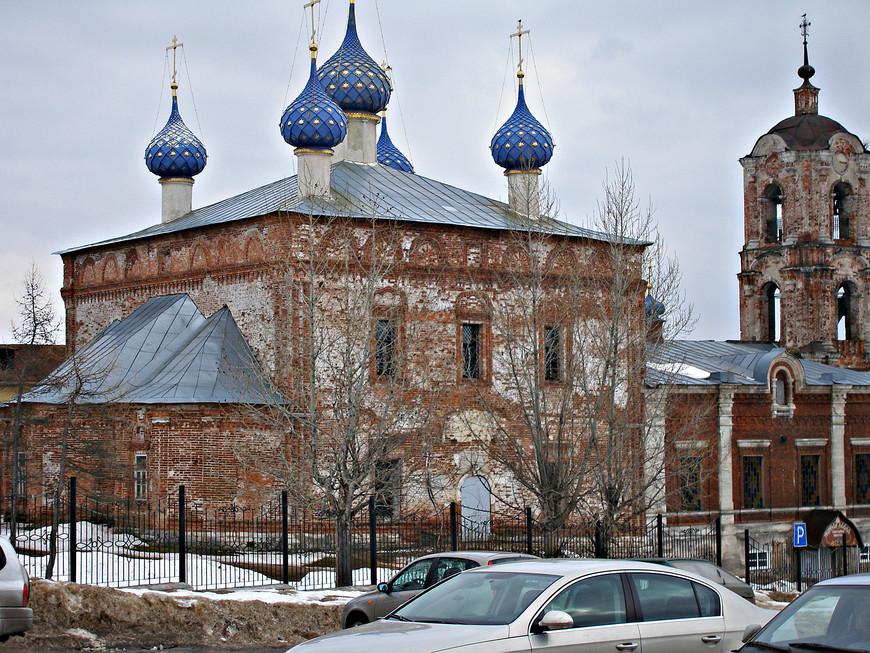 Церковь Успения Пресвятой Богородицы .