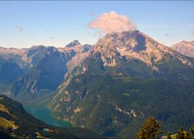 Горные панорамы Верхней Баварии