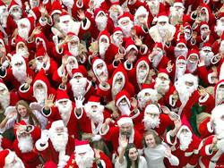 Парад Дедов Морозов пройдёт в Крыму