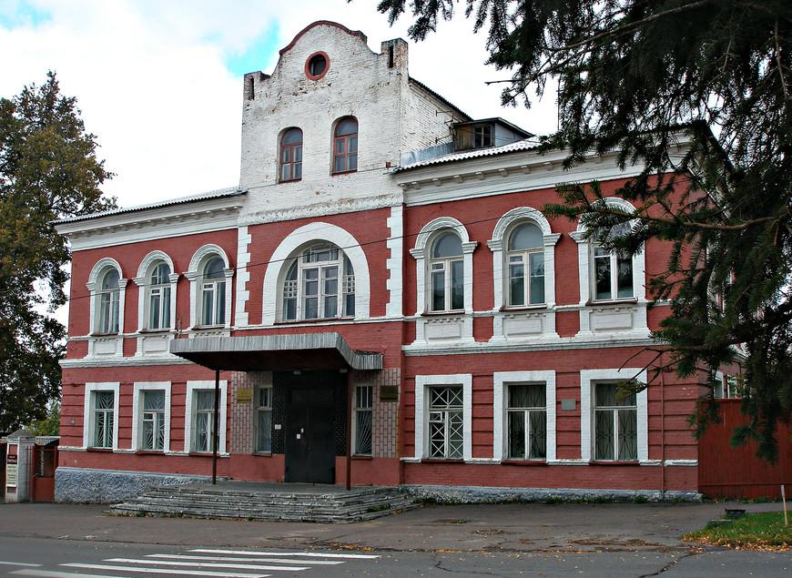 Здание бывшей городской думы.