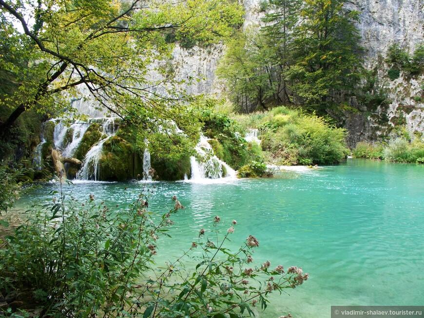 Безусловно Плитвицкие озёра - одно из красивейших мест Хорватии.