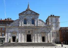 Турин. Плащаница и церковь Святого Лаврентияо