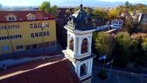 Пловдив. Старый город. Взгляд с неба., 04:24