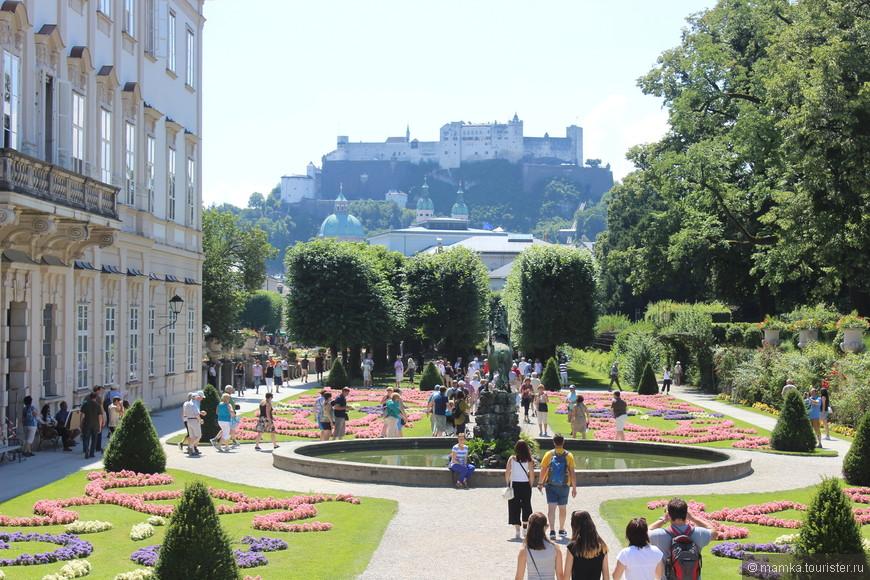 Сад Мирабель- главная достопримечательность Зальцбурга