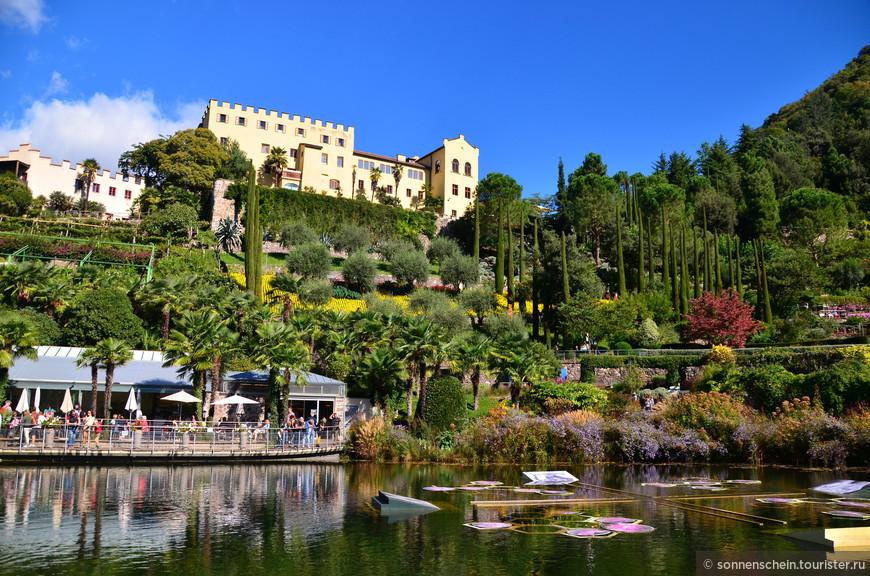 1846 год - Граф Йозеф фон Траутмансдорф открывает замок, от которого его родственники отказались 150 лет назад в курортном городе Мерано. Замок был отремонтирован в нео-готическом стиле. Замок Траутмансдорф, как известно, считается самым ранним примером нео-готических замков построенных в Тироле.
