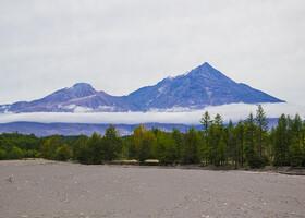 Окрестности вулкана Шивелуч