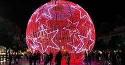 Самый большой в мире ёлочный шар появится в Москве