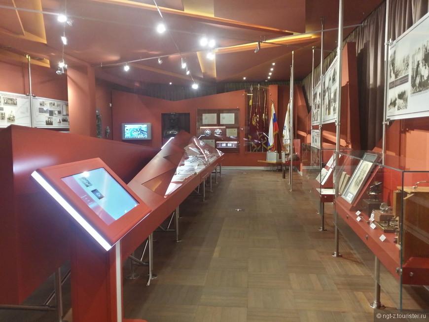 Вид на часть второго зала, в нем вам расскажут историю зарождения этого рудника, с самого начала и до наших дней.