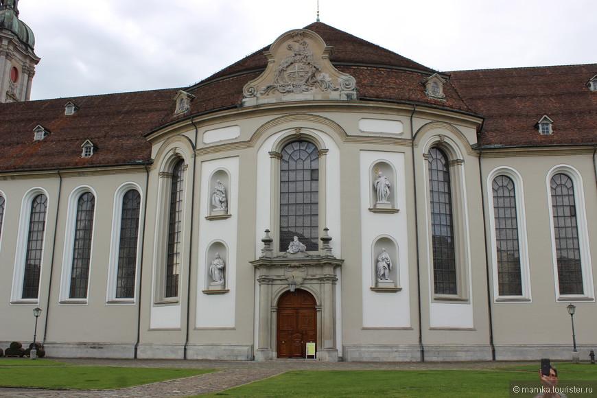 Главная достопримечательность- Аббатство Санкт Галлен