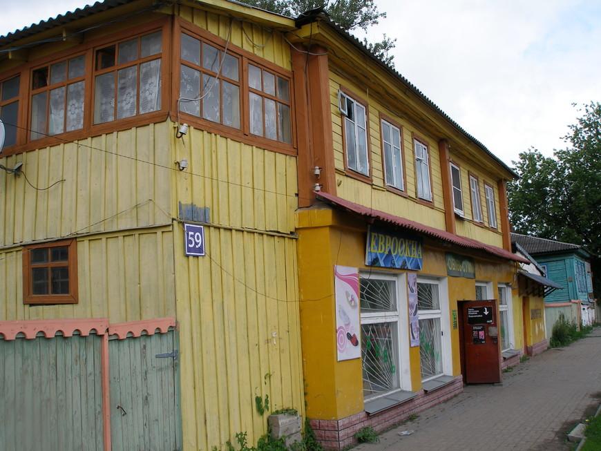 На улицах Козельска.