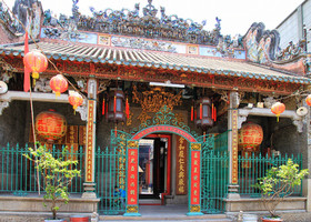 Хошимин. Храм Тьен Хау (Thiên Hậu)