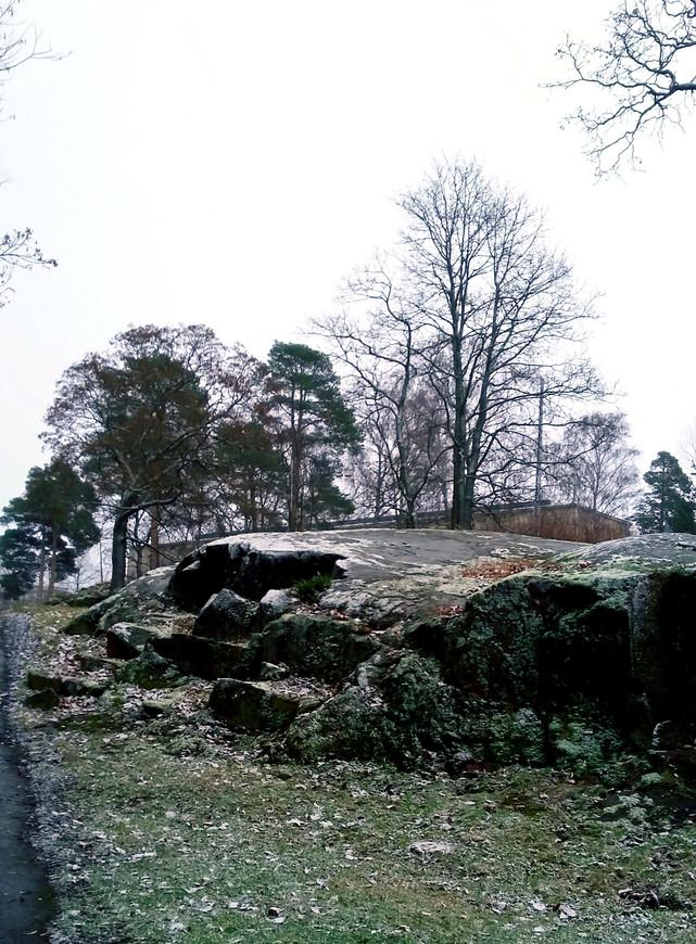 Вокруг памятника разбит великолепный парк, носящий имя Яна Сибелиуса. На этом фото хорошо видно, какая суровая почва в Финляндии: сплошные валуны. Но финны не унывают, а терпеливо осваивают данное им богом пространство.