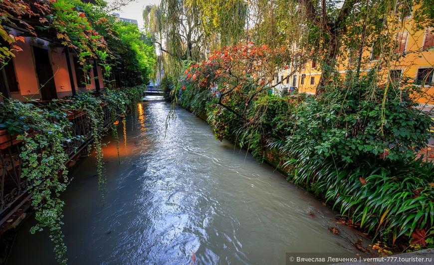 Каналы в городе, ну и вправду, почти, Венеция.