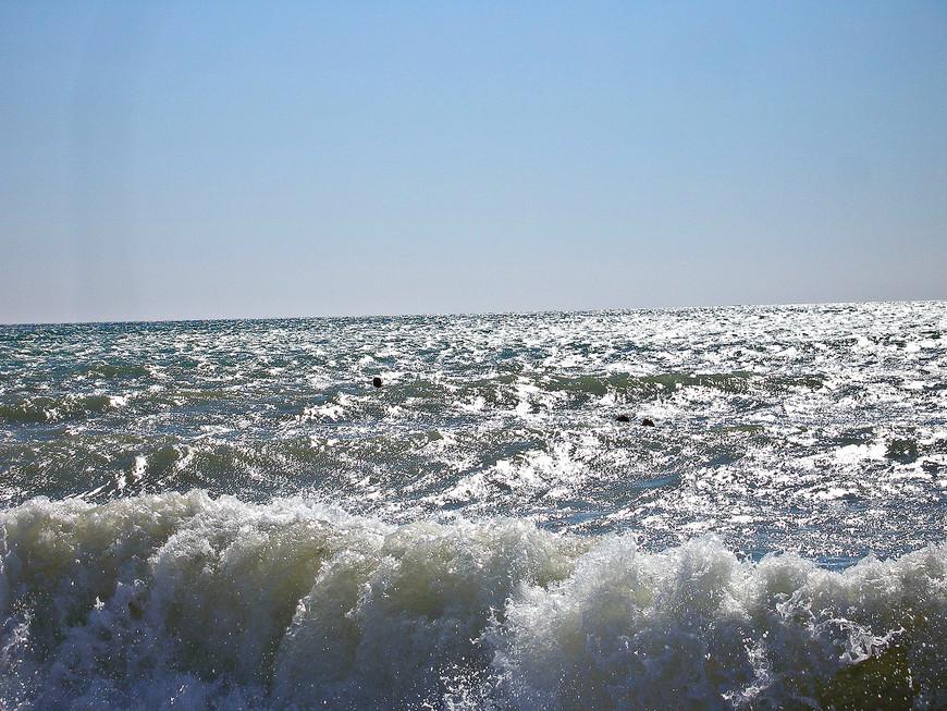Я и море.
