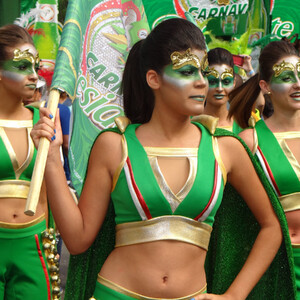 Доминикана,карнавал La Vega