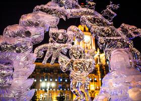 Прогулка по новогоднему Екатеринбургу