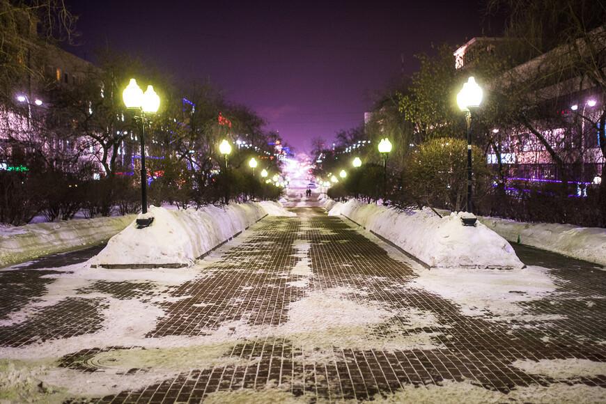 Проспект Ленина - центральная улица города