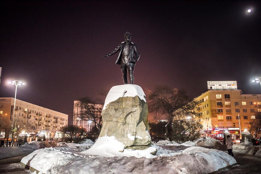 Памятник Якову Свердлову