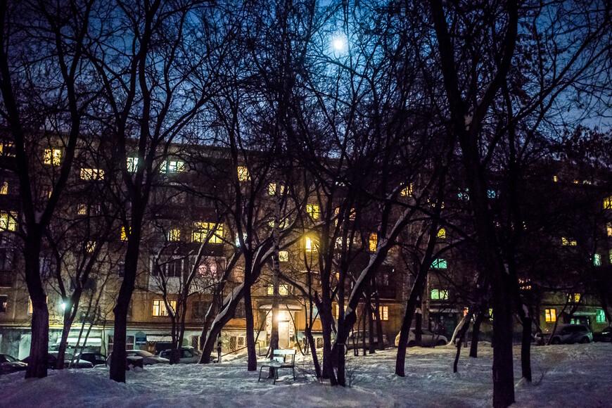Ночь была лунной