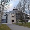 Здание музея это бывший ангар гидросамолетов
