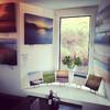 Картинная галерея в одном из кафе острова Харрис