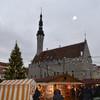 Ратушная площадь на Рождество