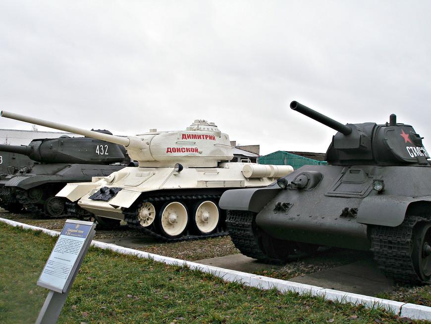 Советский танк Т-34 выпуска 1941 г